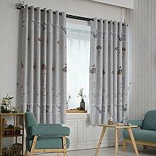HZH-HZH-Einfache, Moderne Schlafzimmer Vorhang