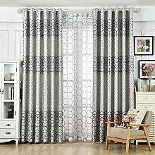 HZH-HZH-Moderne Gardinen und Vorhänge sind