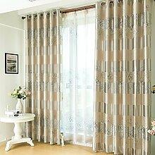 HZH-HZH-Schattierung Vorhang Schlafzimmer