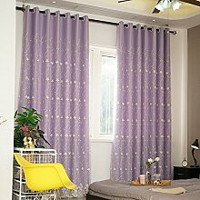 HZH-HZH-Vorhang Fenster Schlafzimmer Fenster,