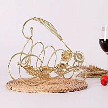 HZH Kreative Weinregal Dekoration Weinglas Halter