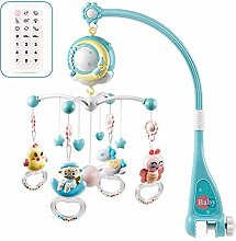 Hzlsy Baby Mobile für Babybetten mit Musik, Crib