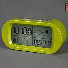 hznzh Wecker Led-Uhr Thermometer Multifunktionale