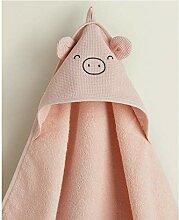 HZT Piggy Design Kapuzenhandtuch