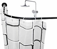 HZTWS Duschvorhang-Set (Stange, Ring) frei