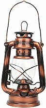 Hztyyier Petroleumlampe mit bronzefarbener