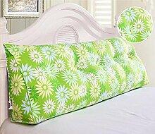 HZZ-KZ Bedside Kissen Kissen Kissen Bett zurück weichen Tasche dreieckig große Rücken Sofa Schlafzimmer zurück Kissen (Farbe : B6, größe : 135*20*50cm)