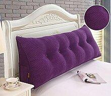 HZZ-KZ Bedside Kissen Kissen Kissen Bett zurück weichen Tasche dreieckig große Rücken Sofa Schlafzimmer zurück Kissen (Farbe : A5, größe : 50*50*20cm)
