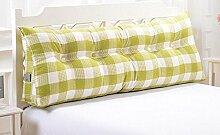 HZZ-KZ Dreieck große Kissen Bedside Soft Bag Doppelte Paar Kissen Sofa Kissen (Farbe : A4, größe : 150cm)