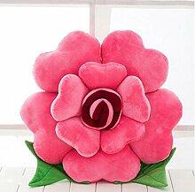 HZZ-KZ Kissen Roses Kissen Stoff Puppe Sofa Sofa Kissen, kreative Puppe Großes Geburtstagsgeschenk (Farbe : B3, größe : 50 cm)