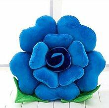 HZZ-KZ Kissen Roses Kissen Stoff Puppe Sofa Sofa Kissen, kreative Puppe Großes Geburtstagsgeschenk (Farbe : B7, größe : 40 cm)
