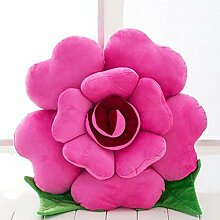 HZZ-KZ Kissen Roses Kissen Stoff Puppe Sofa Sofa Kissen, kreative Puppe Großes Geburtstagsgeschenk (Farbe : B2, größe : 40 cm)