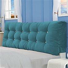 HZZ-PILLOW Bedside Soft Bag Tuch Bett Kopf Kissen / Doppelkissen, Kissen Kissen ( Farbe : A4 , größe : 120*58*15 )