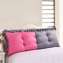 HZZ-PILLOW Bett Kissen / Bett Kissen / Bett zurück / Kissen / große Rückenlehne ( Farbe : A3 , größe : 115cm )
