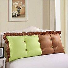 HZZ-PILLOW Bett Kissen / Bett Kissen / Bett zurück / Kissen / große Rückenlehne ( Farbe : A1 , größe : 145cm )