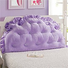 HZZ-PILLOW Bett Rückenlehne Bett Kissen Kopfstütze Kissen Kissen Kissen (mit Kern) ( Farbe : A2 , größe : 150*85cm )