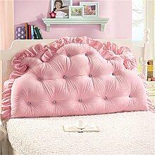HZZ-PILLOW Bett Rückenlehne Bett Kissen Kopfstütze Kissen Kissen Kissen (mit Kern) ( Farbe : A1 , größe : 150*85cm )