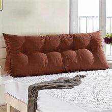 HZZ-PILLOW Dreieck Sofakissen Kissen, Doppelbett Soft Bag, Bett Kissen Bett Rückenlehne, waschbar ( Farbe : A3 , größe : 22*50*120cm )