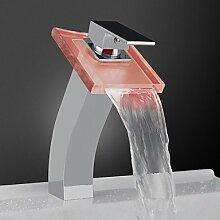 hzzymj-glass, Wasserfall, Waschbecken-Wasserhahn,
