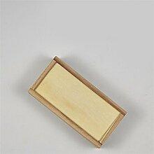 hzzymj-paulownia Box rechteckig Drawn