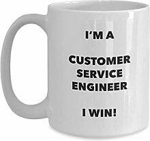 I'm a Customer Service Engineer Tasse I win! -