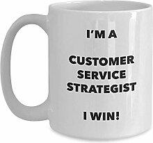 I'm A Customer Service Strategist Mug I