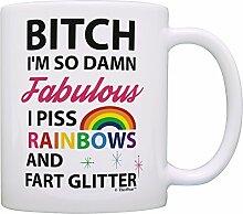 I 'm So Fabulous I Piss Regenbögen und Fart