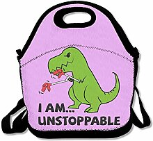 I Am Unstoppable DinosaurLunch Box For Girls Lunch