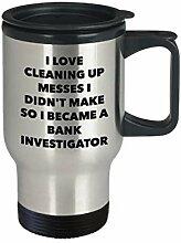 I Became a Bank Investigator Reisebecher Bank,