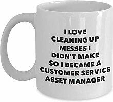 I Became a Customer Service Asset Manager Mug -