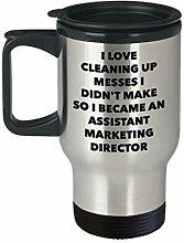 I Became an Assistent Marketing Director