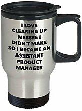 I Became an Assistent Product Manager Reisetasse