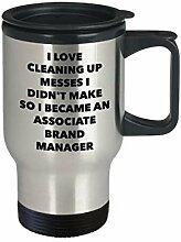 I Became an Associate Brand Manager Travel Mug