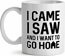 I Came I Saw and I Want to Go Home Friends Office