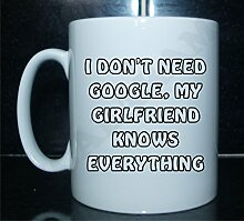 I don 't need Google my girlfriend Knows