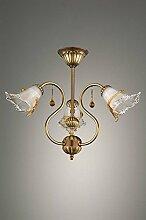 I.F. Phase 561/3/C Designer-Lampe, Bronze, mit 3