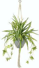 I.GE.A. Künstliche Zimmerpflanze Wasserlilie, im