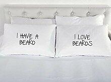 I haben eine Bart Ich liebe Bärte Paare NEUHEIT