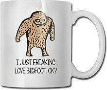 I-Just-Freakin-Love-Bigfoot! -OK 330ml Tasse