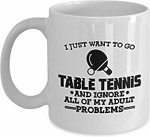 I Just Want to Go Table Tennis and Ignore All of
