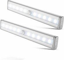 I LED-Streifen I 2 LED-Nachtlichter mit