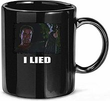 I Lied Coffee Mug Tea Cups