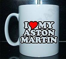 I Love / Herz my Aston Martin NEUHEIT Bedruckt