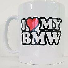 I love/Herz My BMW Neuheit Bedruckte
