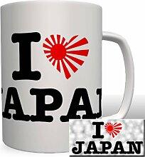 I Love Japan - Tasse Becher Kaffee #2368