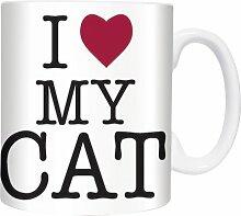 I Love My Cat - Mugs - Becher - Chopes