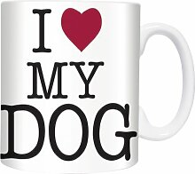 I Love My Dog - Mugs - Becher - Chopes