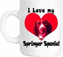 I Love My English Springer Spaniel Hund Geschenkidee