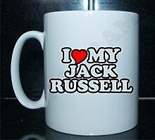 I love my Jack Russell Neuheit Bedruckte