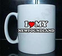 I love my Neufundland Neuheit Bedruckte Tee/Kaffee